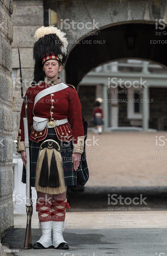 Citadel Guard royalty-free stock photo