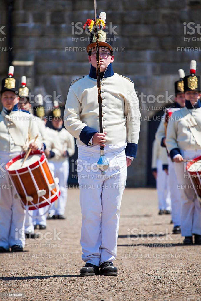 Citadel Hill Anniversary Performance royalty-free stock photo