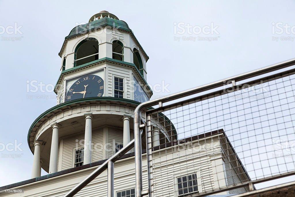 Citadel Hill Clock Halifax Nova Scotia royalty-free stock photo