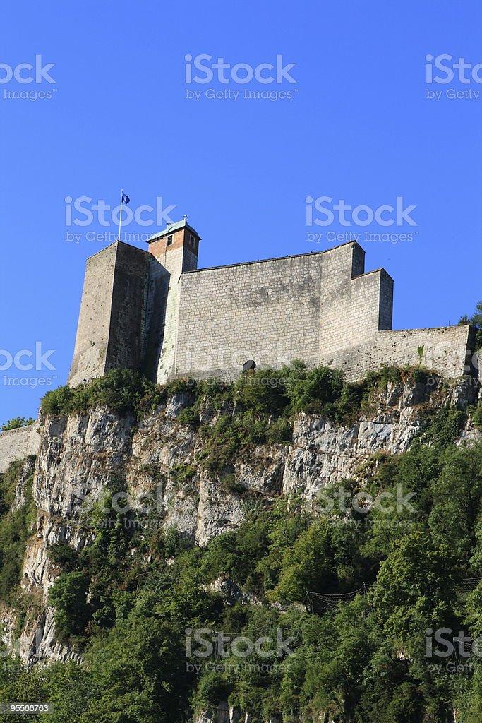 Citadel in Besan?on stock photo