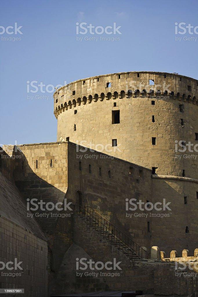 Citadel in Cairo stock photo