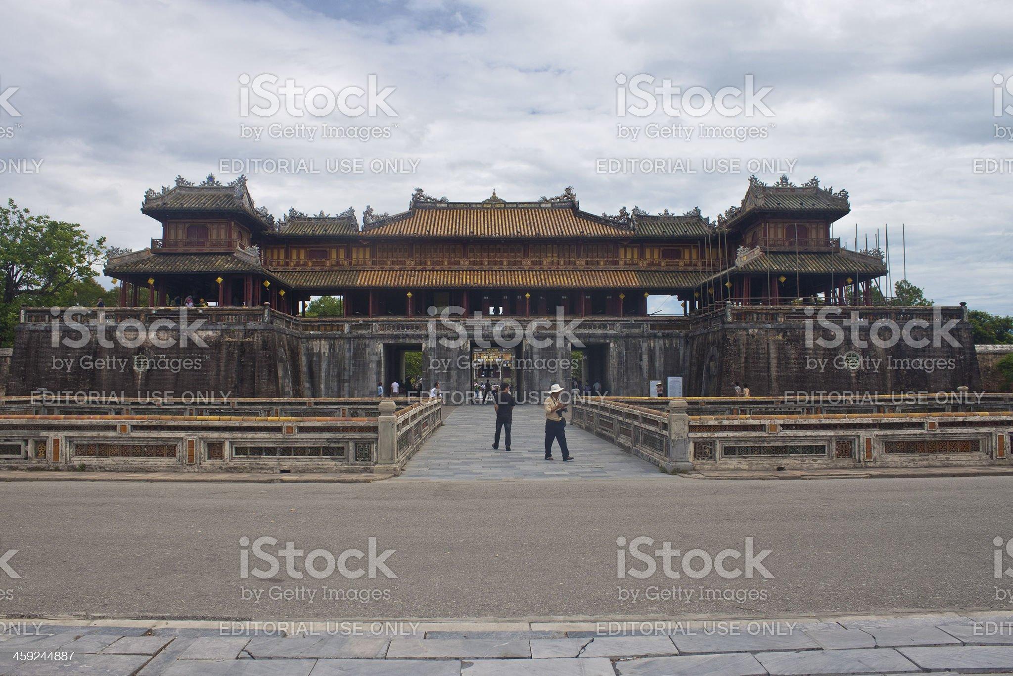 Citadel in Hue royalty-free stock photo