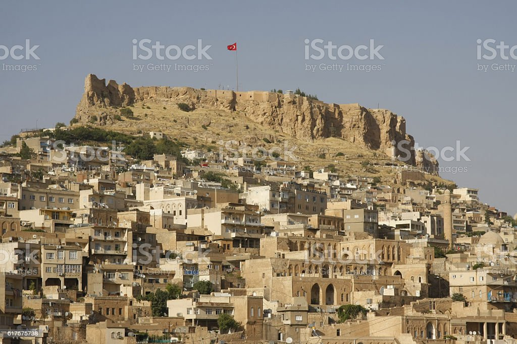 Citadel of Mardin stock photo