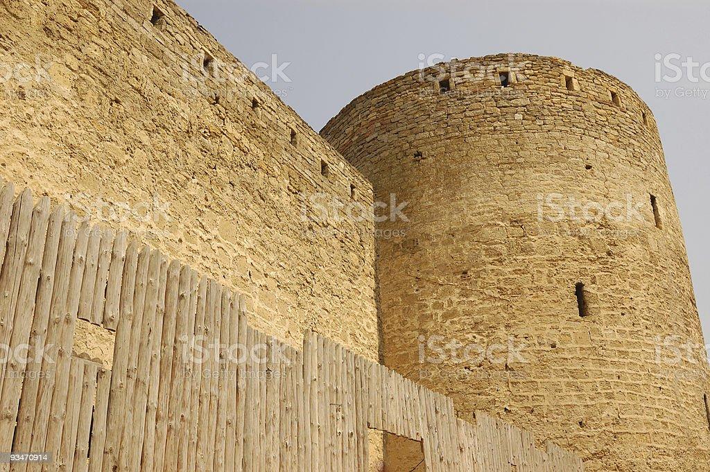 citadel royalty-free stock photo