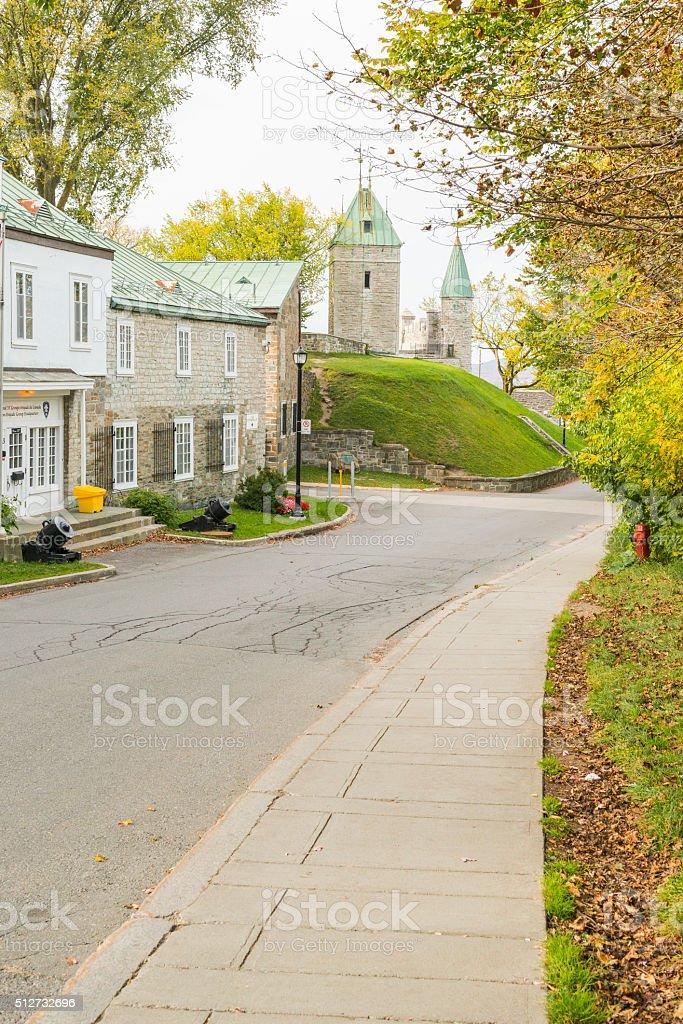 Citadel street stock photo