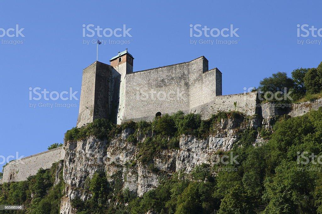 Citadel Vauban in Besan?on stock photo