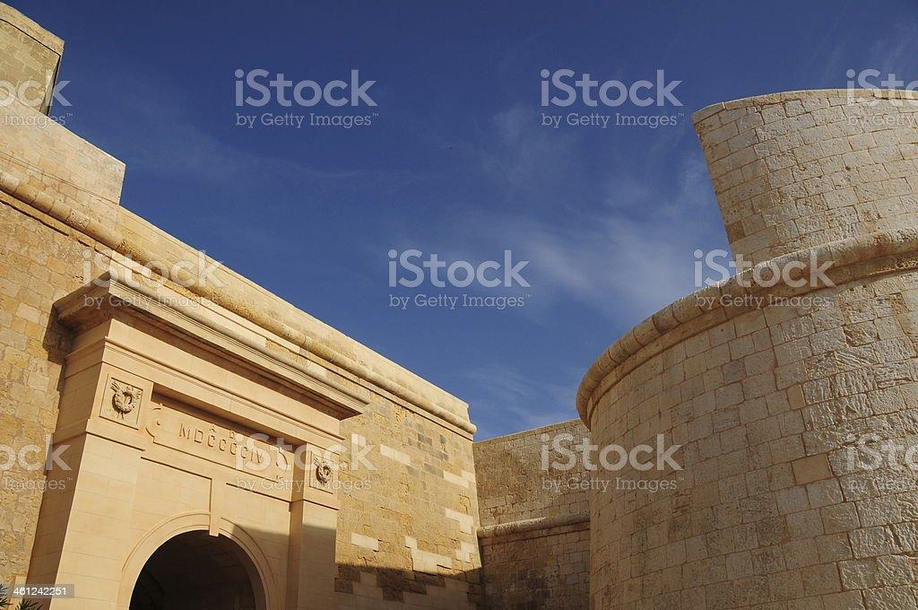 Citadella,Victoria,Gozo,Maltese Islands. stock photo