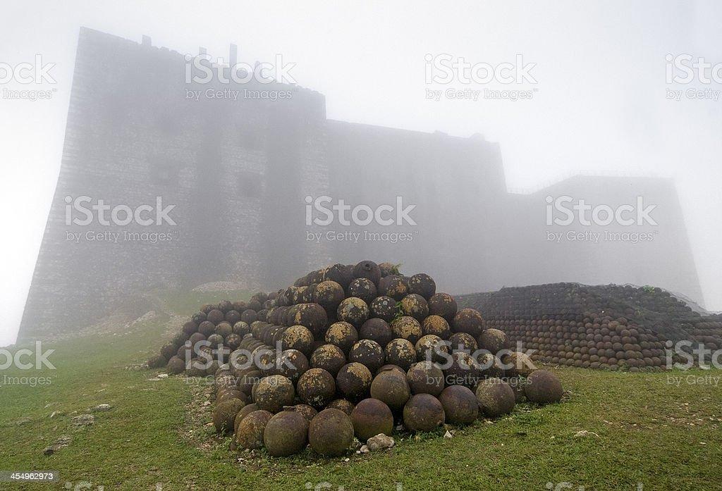 Citadelle Laferriere, Haiti stock photo