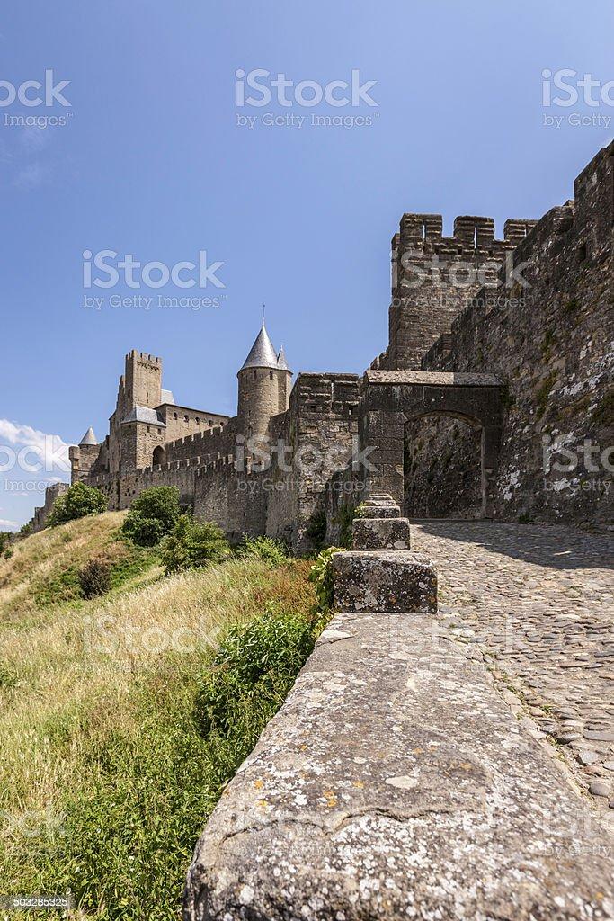 Cite de Carcassonne royalty-free stock photo