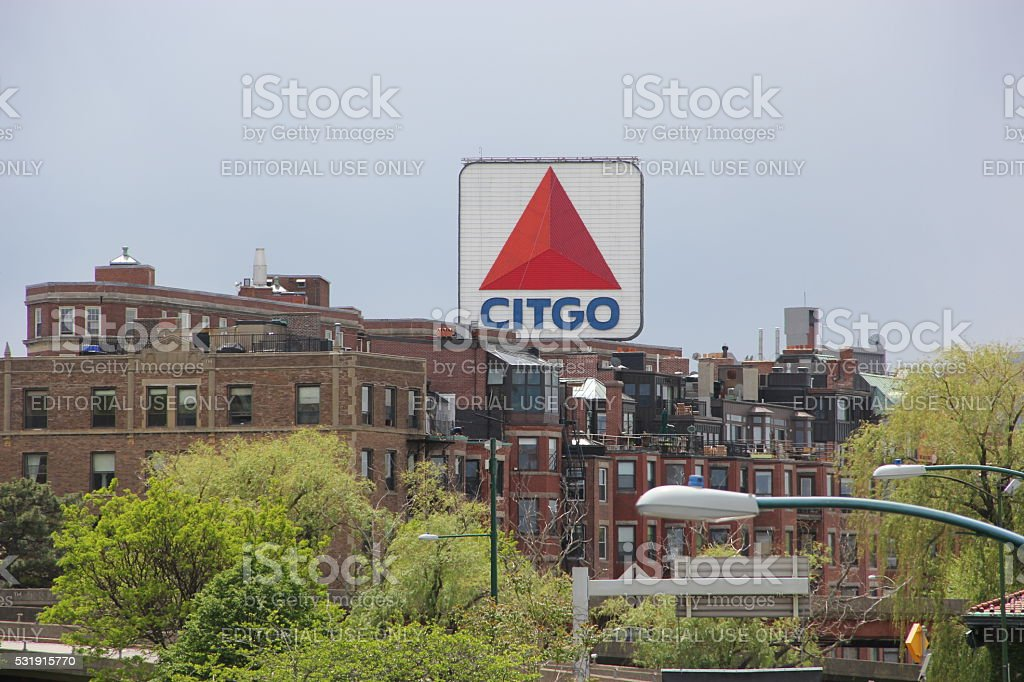 Citgo sign Boston Ma stock photo