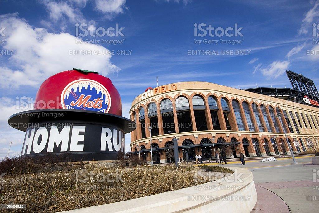 Citi Field Ballpark stock photo