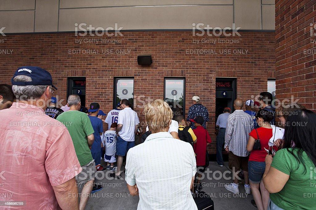 Citi Field Box Office stock photo