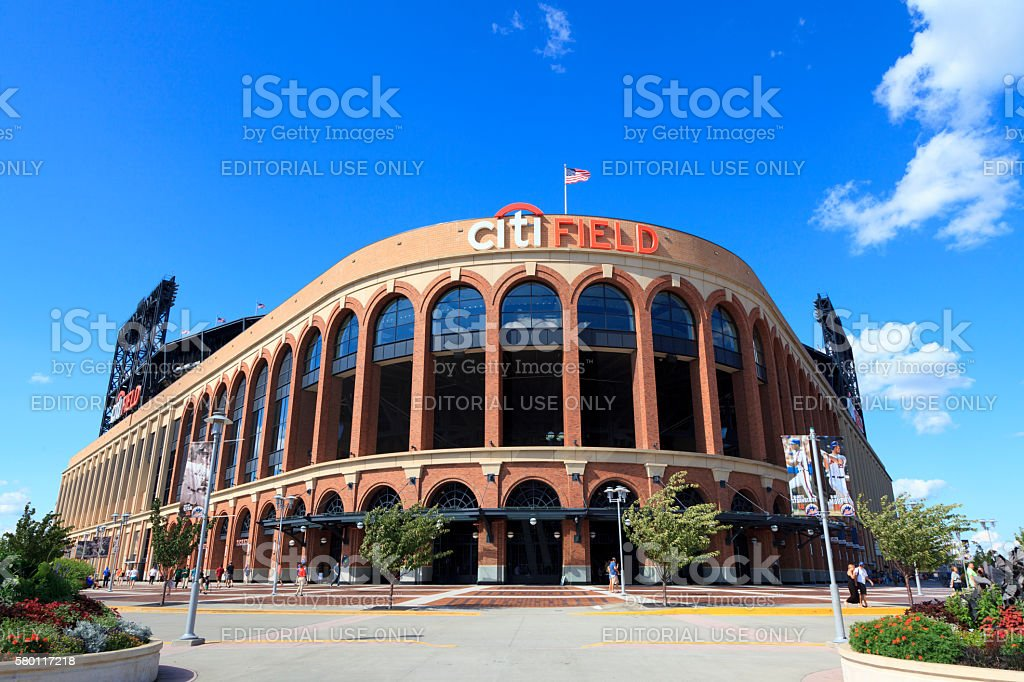 Citi Field stock photo