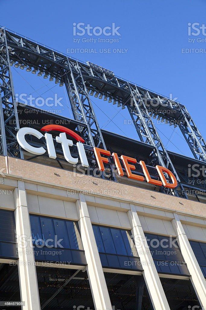 Citi Field stadium in New York City royalty-free stock photo