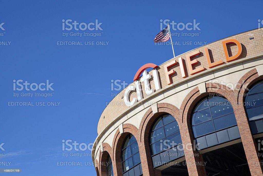 Citi Field stadium in New York City stock photo