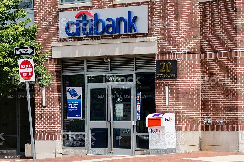 Citibank stock photo