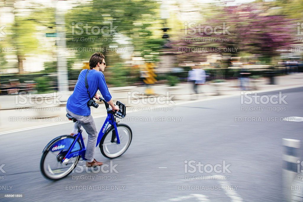 Citibike royalty-free stock photo