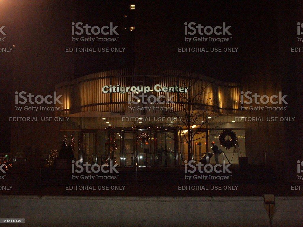 Citigroup Center (601 Lexington Avenue) Building Entrance in New York. stock photo