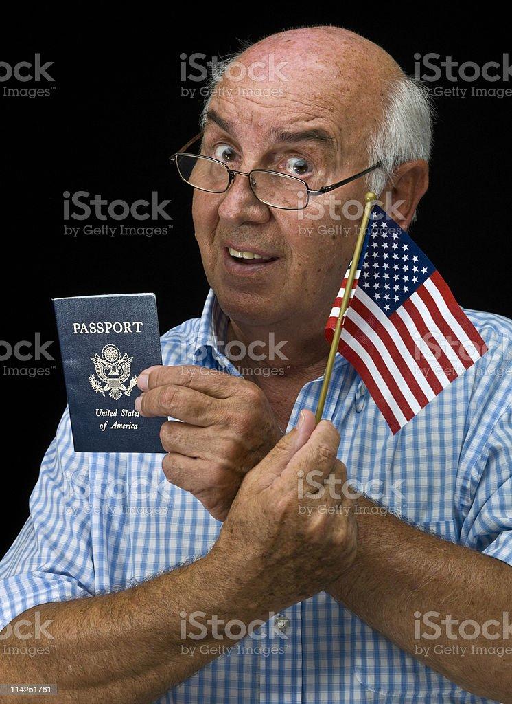 Citizenship royalty-free stock photo