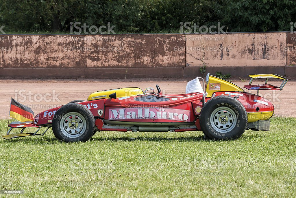 Citroen 2CV , Formel Ent`s stock photo