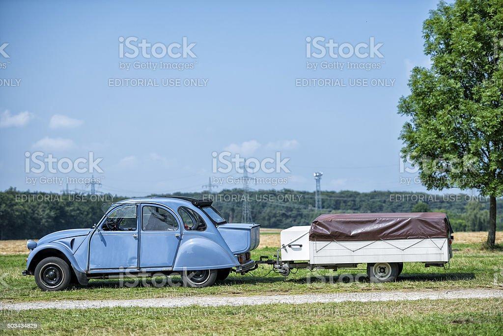 Citroen 2CV stock photo