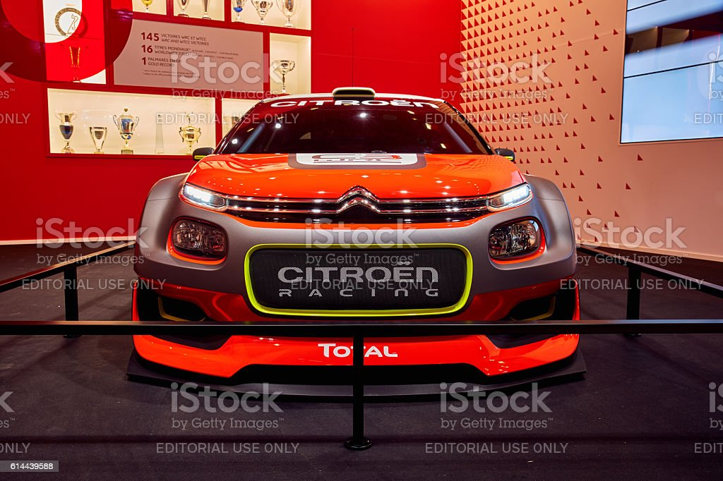 2016 Citroen C3 WRC Concept stock photo