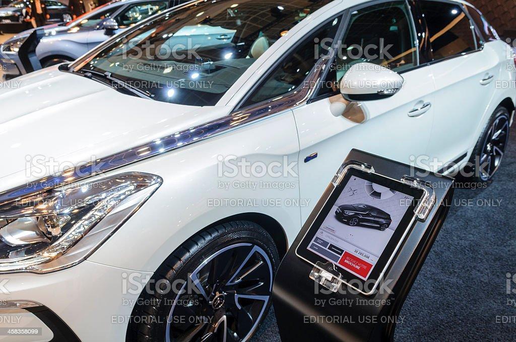 Citroen DS5 royalty-free stock photo