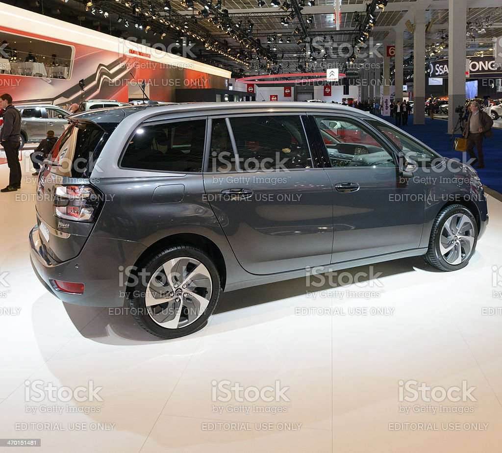 Citroen Grand C4 Picasso royalty-free stock photo