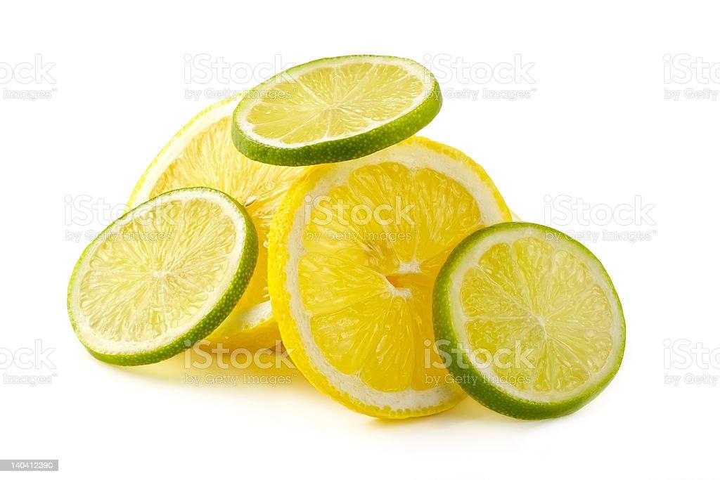 Citron allsorts-lime, lemon royalty-free stock photo