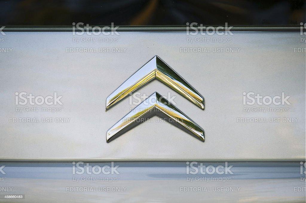 Citroën logo stock photo