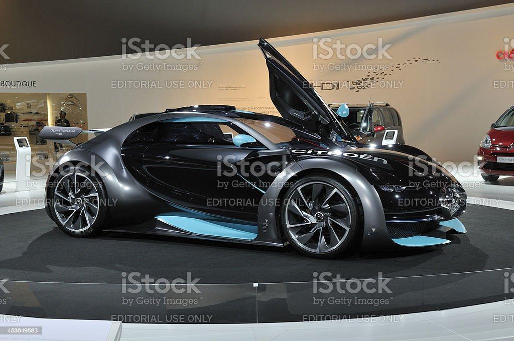 Citroën Survolt electric concept car royalty-free stock photo
