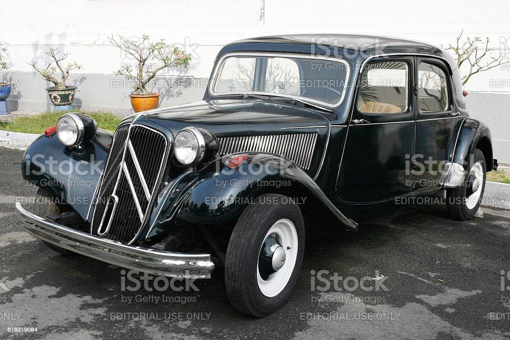 Citroën Traction Avant 11B stock photo