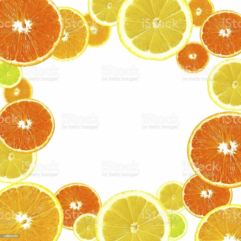Citrus background royalty-free stock photo