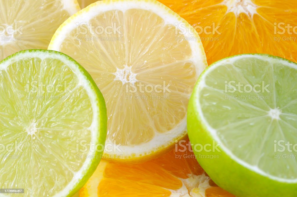 Citrus background royalty-free stock photo