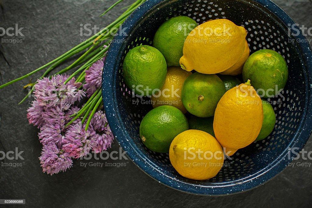 Citrus bowl stock photo
