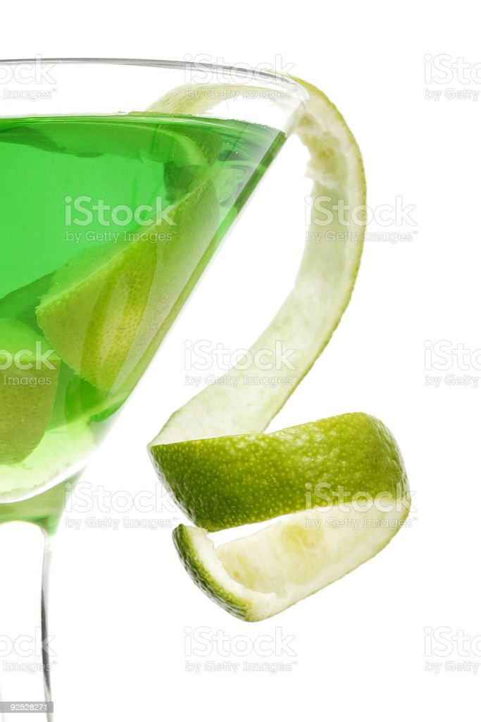 Citrus Cocktail Twist stock photo