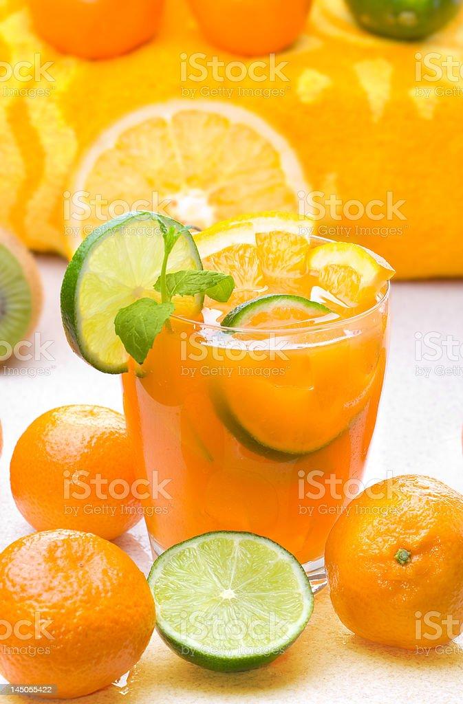 Citrus Drink royalty-free stock photo