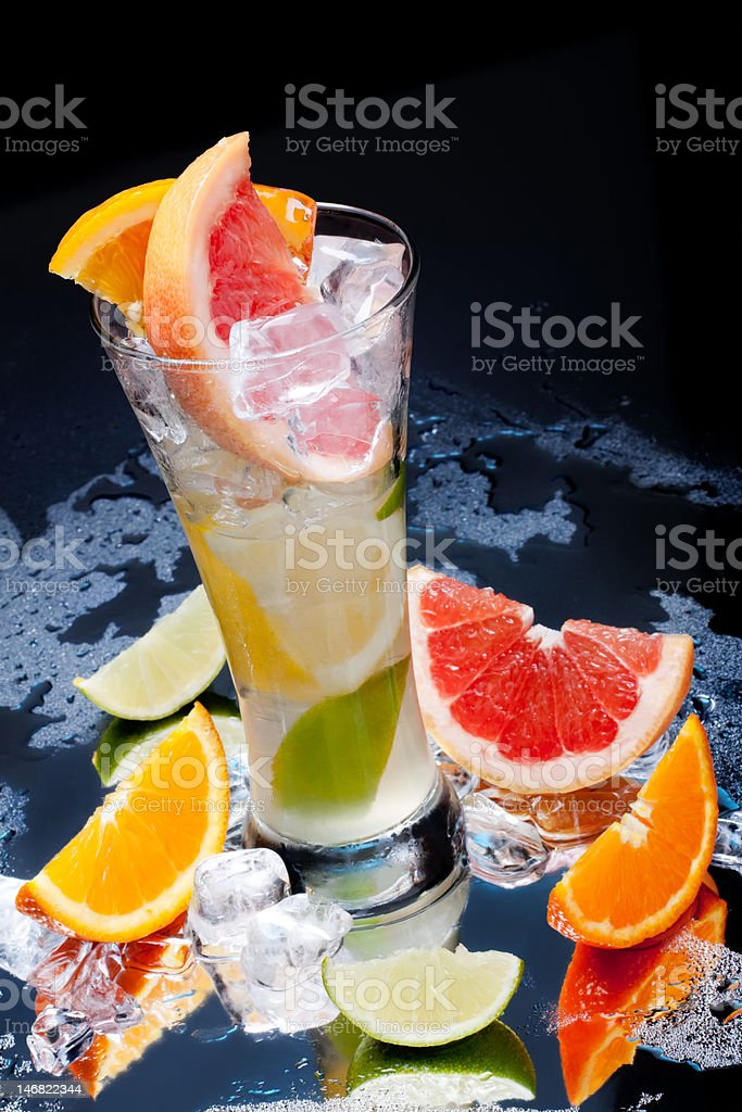 citrus fruit drink royalty-free stock photo