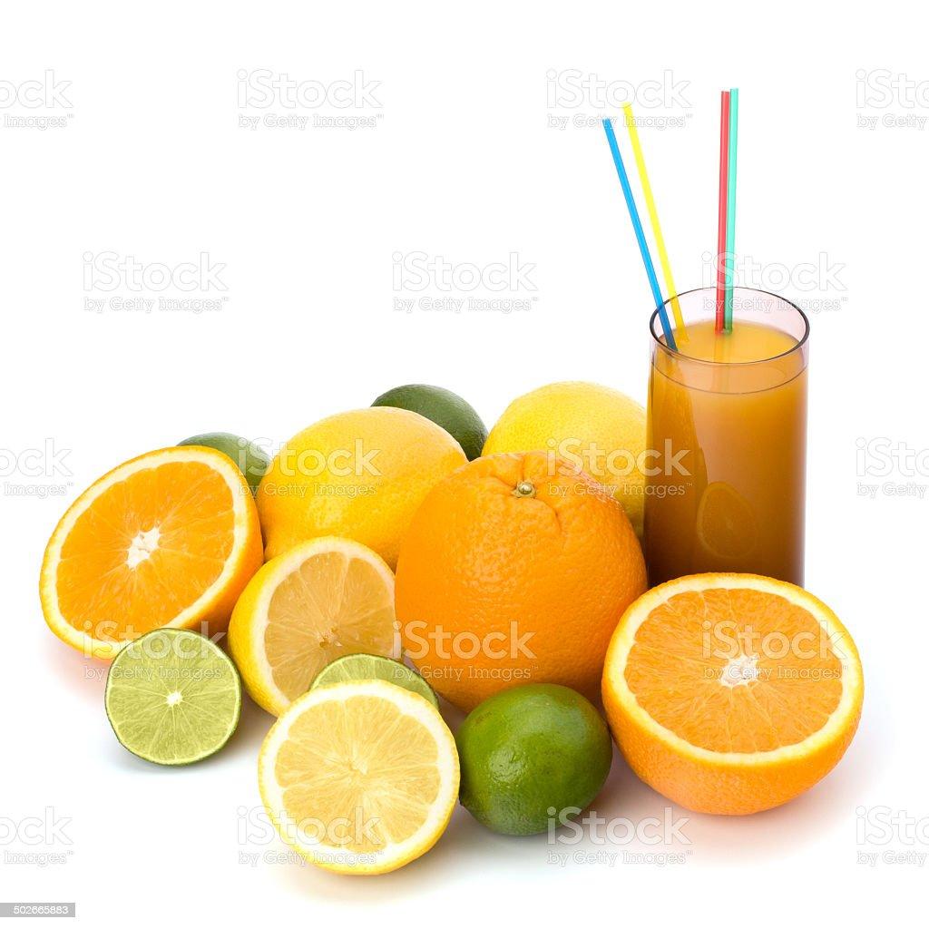 Citrus fruit juice stock photo