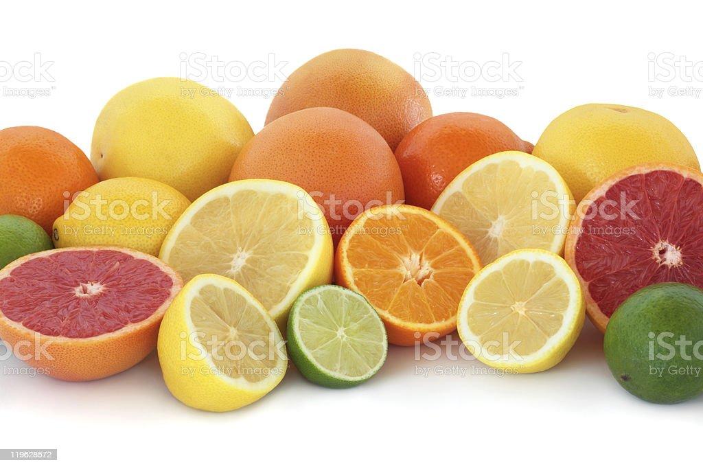 Citrus Fruit Selection royalty-free stock photo