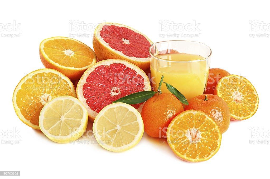 Citrus juice royalty-free stock photo