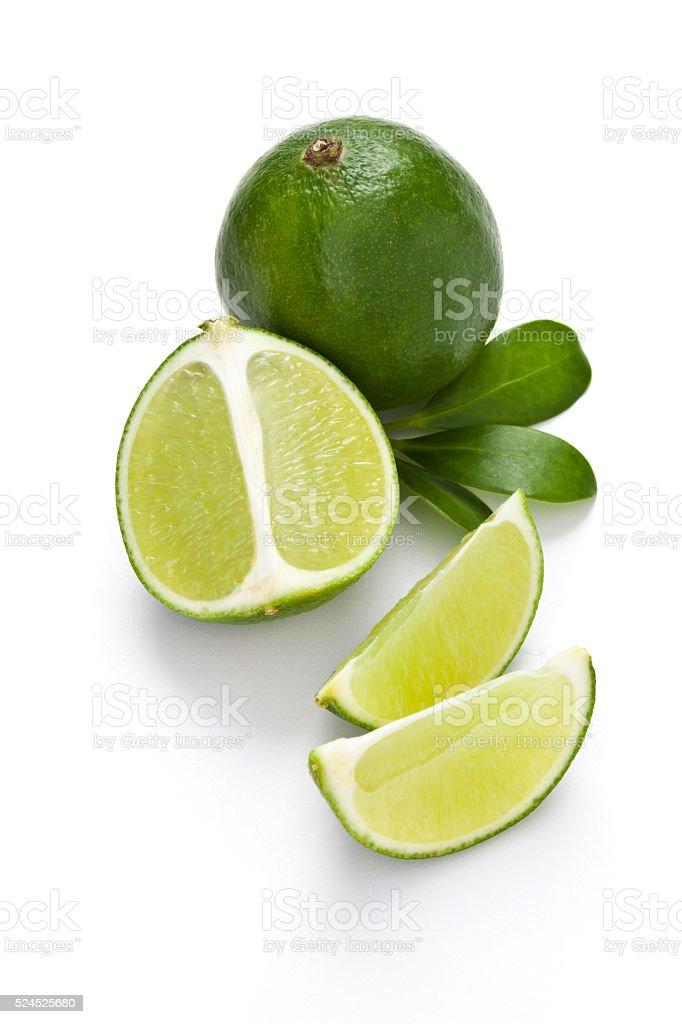 Citrus lime fruit stock photo