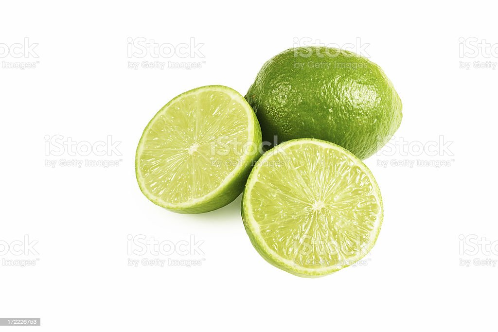 Citrus (Limes) royalty-free stock photo