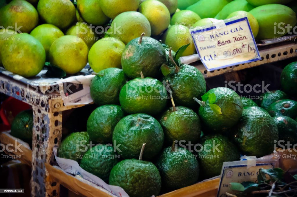 Citrus Pyramids. stock photo