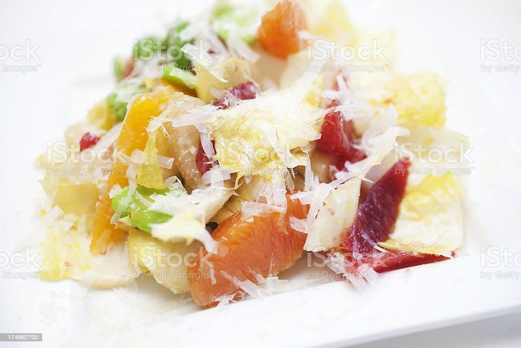 Citrus Salad royalty-free stock photo