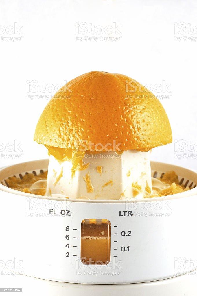 Citrus squeezer royalty-free stock photo