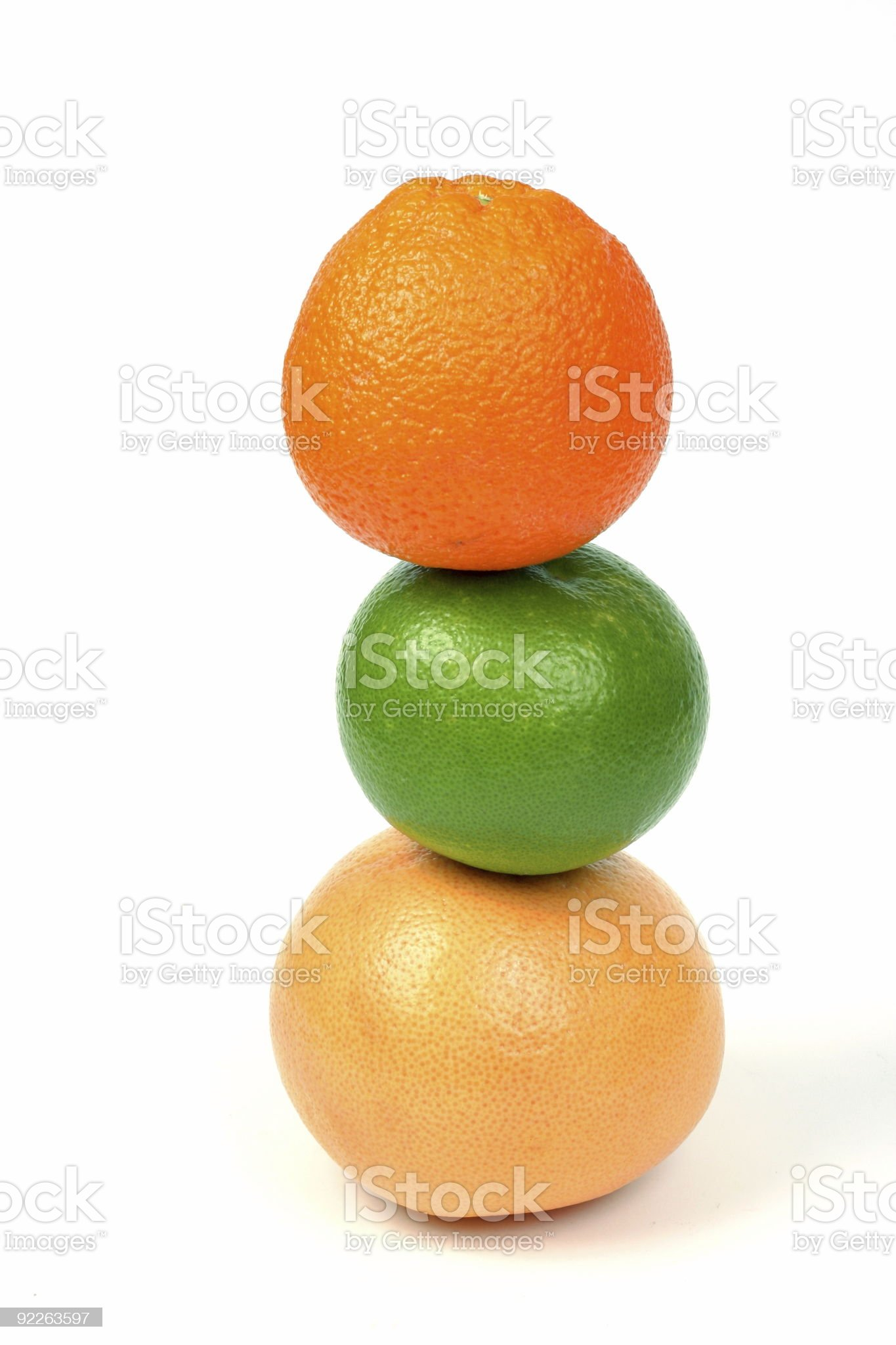 Citrus tower royalty-free stock photo