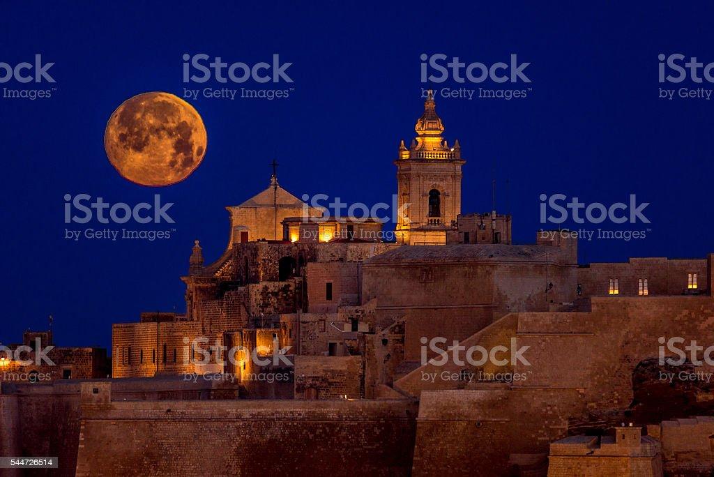 Cittadella Gozo stock photo