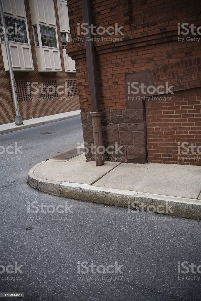 City Alley royalty-free stock photo