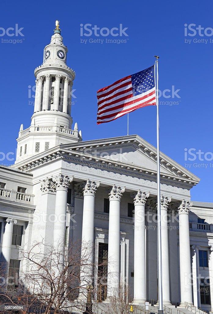City and County Building, Denver, Colorado stock photo